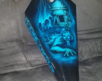 Coffin zombie gas tank