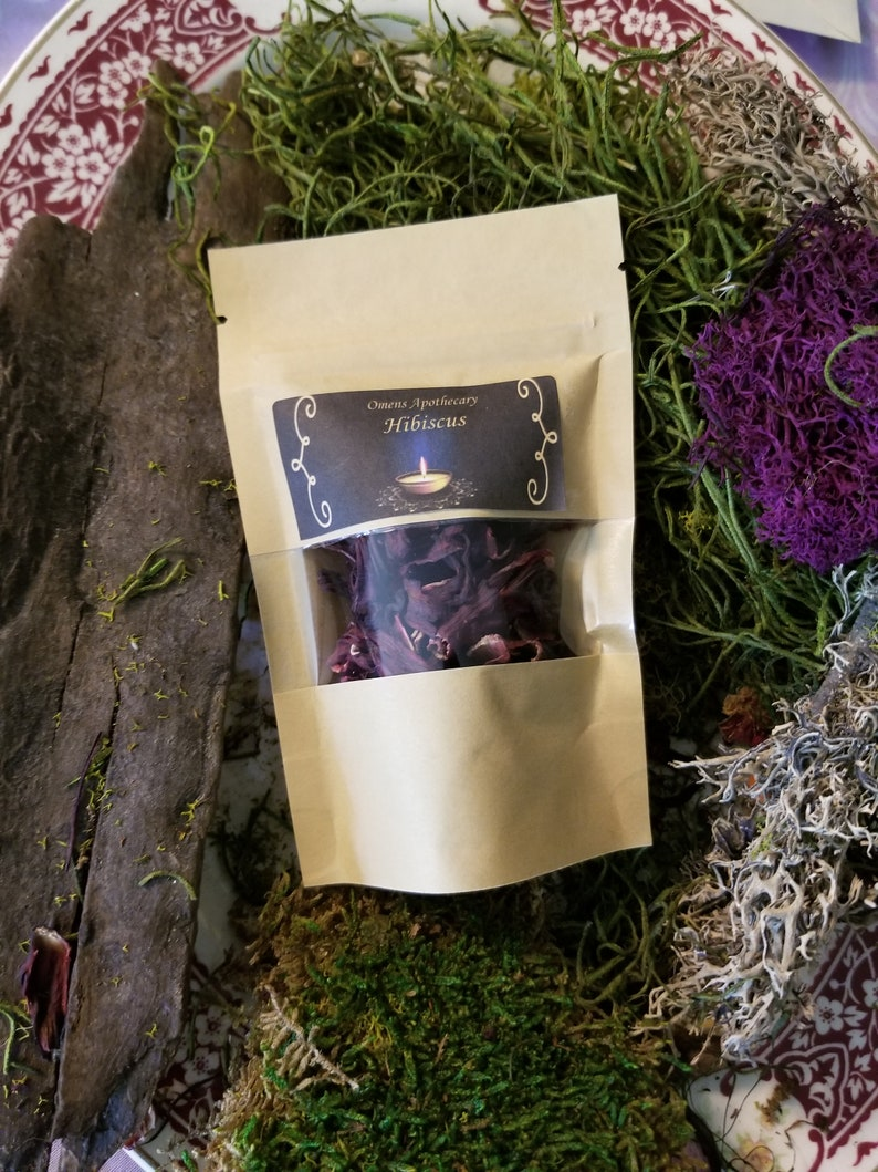 Hibiscus Flowers/Witch/Magick/Witchcraft/Herbs/Love/Spiritual/Divination