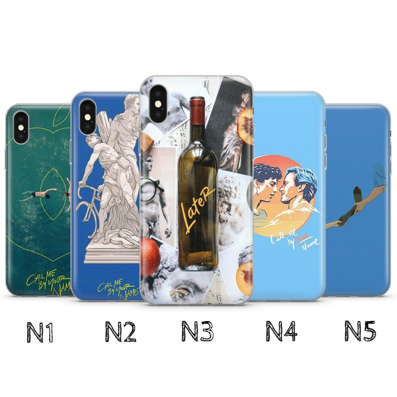 Cell Phones & Accessories Call Me By Your Name Personalised Phone Case For Iphone Samsung Huawei B36
