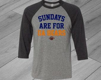 b9f8df5a Chicago bears shirt | Etsy