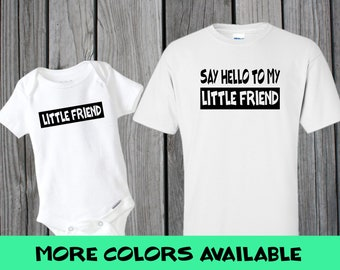 3a78dfc2 LITTLE FRIEND , Scarface themed Customized Matching T-Shirt and Onesie