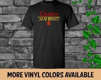 3c9213331c8 GAME OF MAHOMES, Patrick Mahomes Kansas City Chiefs Customized T-Shirt