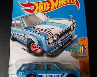 2X Lowered car outline JDM stickers For Datsun 510 wagon Classic
