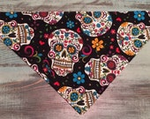 Halloween Bandana For Your Pet, Collar Slips Thru for Dogs, Cats, and Critters