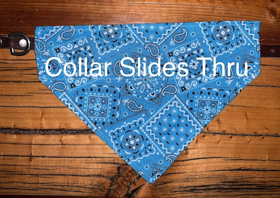Pet Bandana for Dog Cat or Critter, Cowboy or Cowgirl, Made in Montana Assistedly by Special Olympians