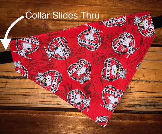 Snoopy Pet Bandana for Pets of All Sizes, Made in Montana Assistedly by Young Adults with Super-Abilities