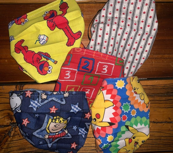 Clearance 5 Fun Masks REVERSIBLE, Teacher, Student, Parent, Pediatric, Dental, Daycare, Hospital, Medical, Produced by Special Olympians!