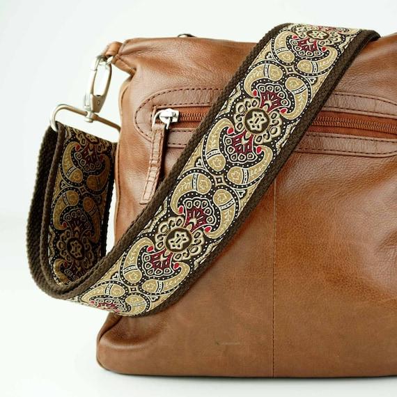 MJJY Ersatz Verstellbarer Breiter Taschenriemen Gewebte Damen Tasche Gurt Tasche Zubeh/ör F/ür Crossbody Umh/ängetasche-Braun