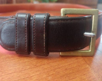 ee9cadb4d77e Vintage Coach Leather Belt
