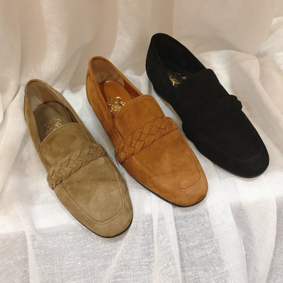 Women's Suede Loafers Every Day Shoes