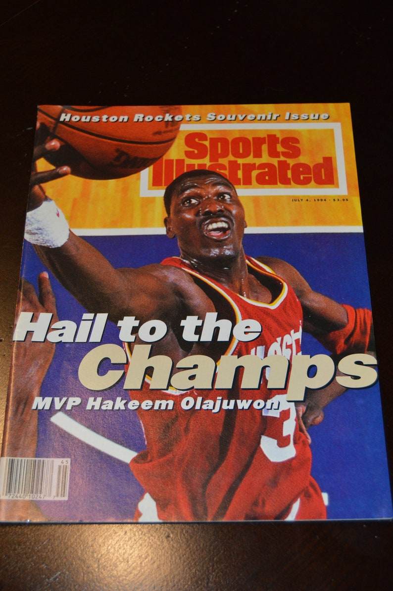 promo code 1202f 3d039 Sports Illustrated Houston Rockets Souvenir Issue
