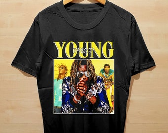 2a501bf87 Young Thug T Shirt Clothing Hypebeast Street Wear for Unisex