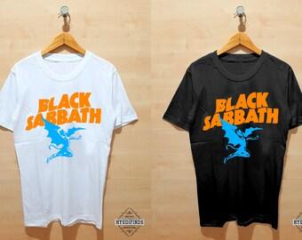 155f121bd3a9 Black Sabbath Henry Winged Devil T Shirt Clothing Hypebeast Street Wear for  Unisex