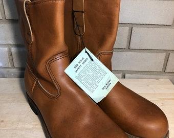 bbcd5e72 NOS circa 1990 Redwing Pecos Boots, Size 9.5E
