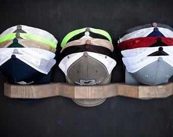 hat rack etsy rh etsy com  baseball hat display shelves