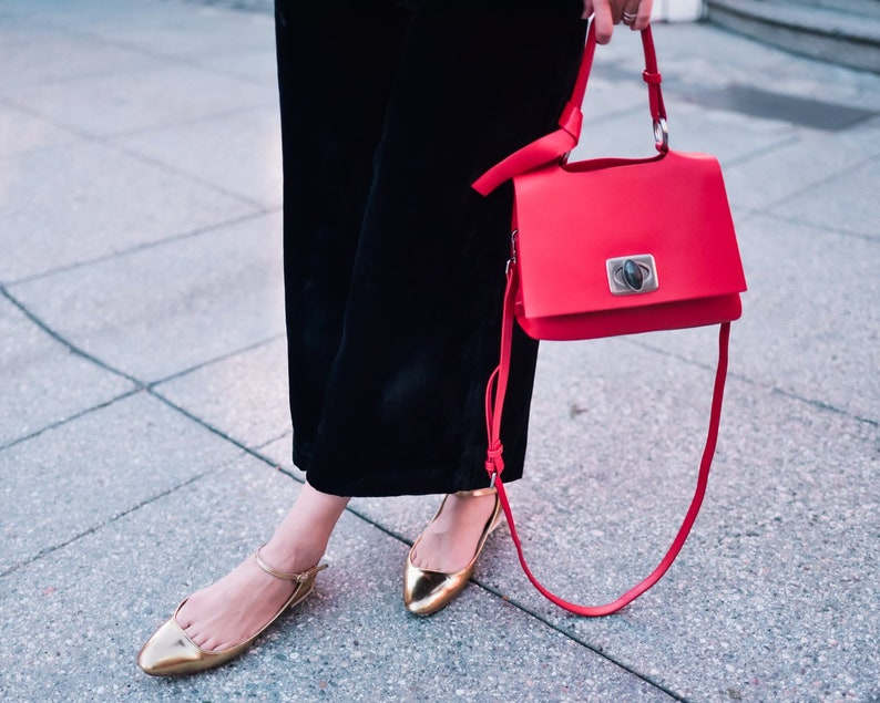 The Perfect Red Lady Bag image 0