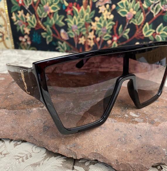 Vintage YSL Large Frame Sunglasses