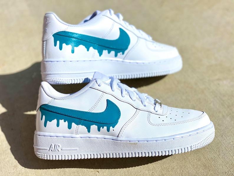 Spedirmi le scarpe Solo grafica Drip Nike Drip Air Force vPEoZo1P