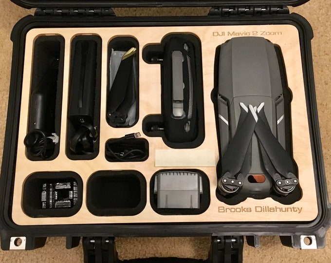 Mavic 2 Case Insert for Harbor Freight Apache 3800 Weatherproof Case