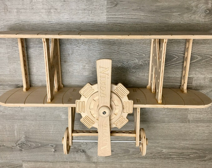 "32"" Biplane Shelf *Digital Download* CNC File"