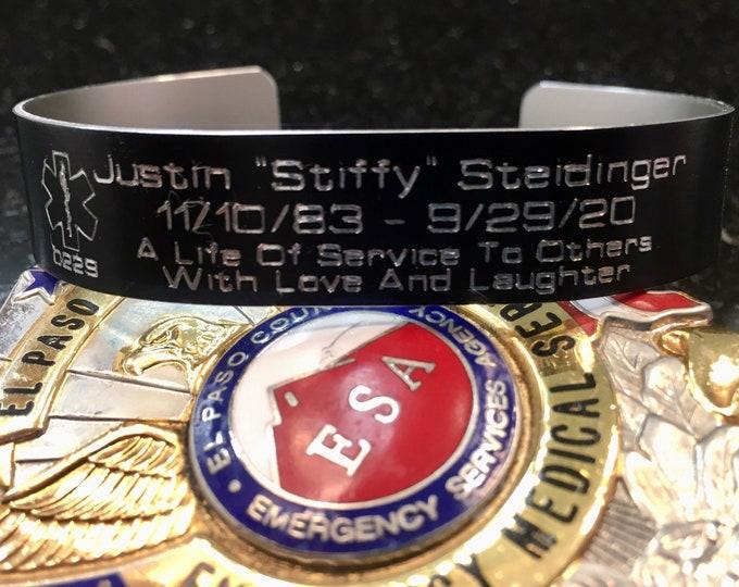 "Justin ""Stiffy"" Steidinger Memorial Bracelet"