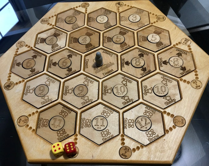 Hex Explorers Game Board