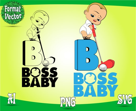 The Baby Characters For Your Design Boss Svg Png Patterns Images Transparent Background 300 Dpi File Clipart Cricut