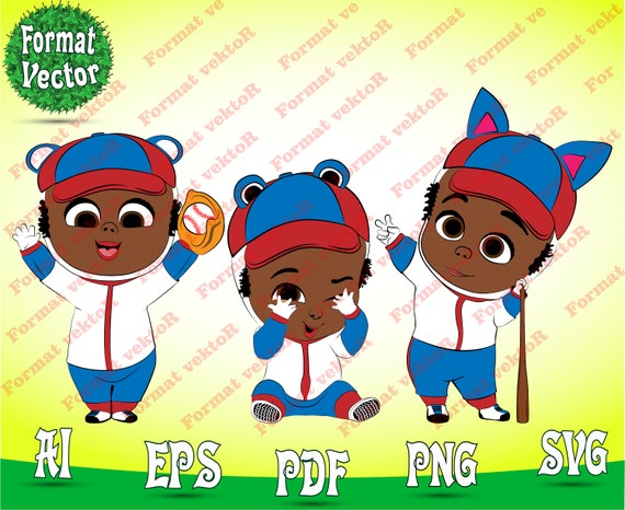 The Boss Baby Svg Png Boss Baby Baseball Team Ai And Svg Patterns And Pdf Png Images Transparent Background 300 Dpi File Disney Clipart