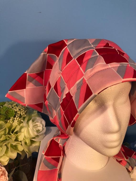 Vintage Hair Net / Hair Bonnet / Sleeping Cap / He