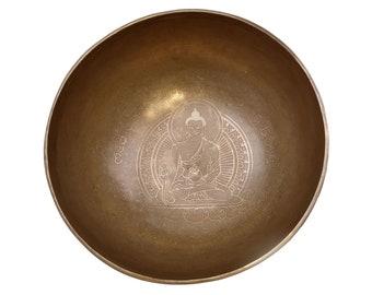 Meditation Sound Bowl Medical Buddha | Handmade from Nepal