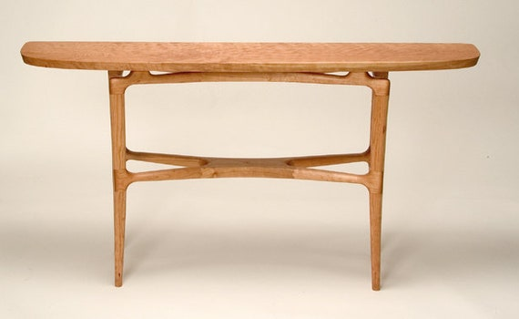 Mid Century Modern Console Table Etsy