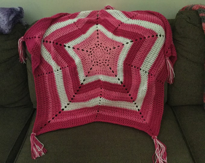 Crochet Star Afghan