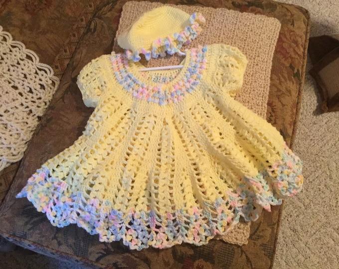 Crochet Girl's Dress