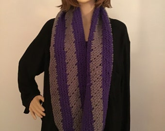 Long Crochet Cowl