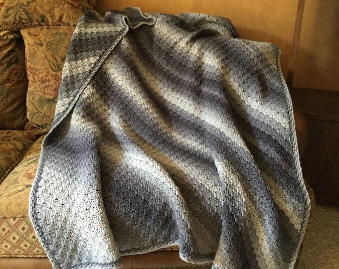 Corner Crochet Afghan