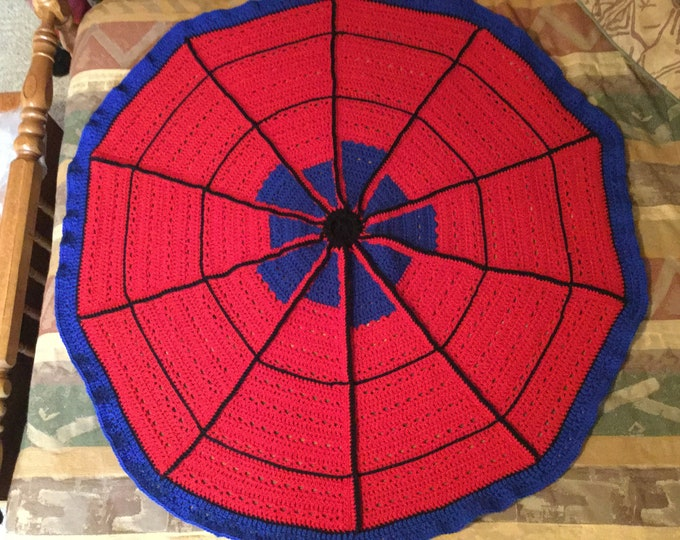 Spiderman Afghan