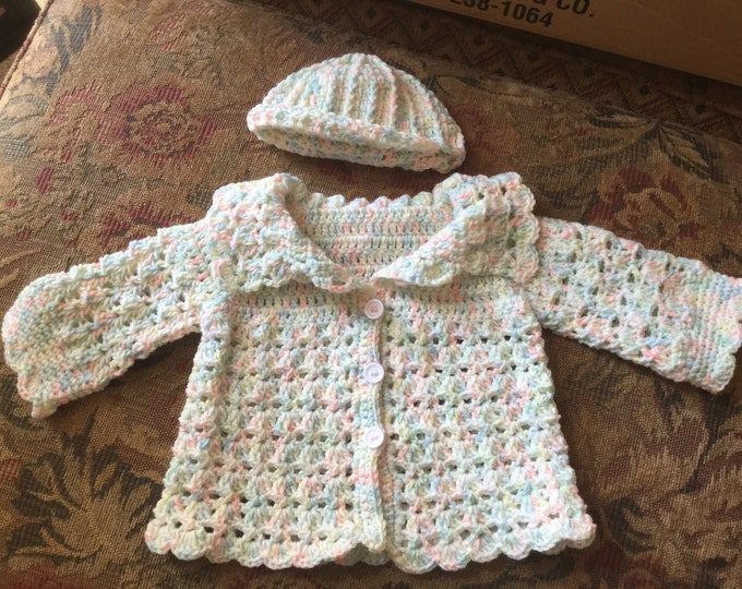 Toddler Sweater with Hat