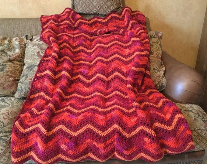 Crochet Ripples Afghan