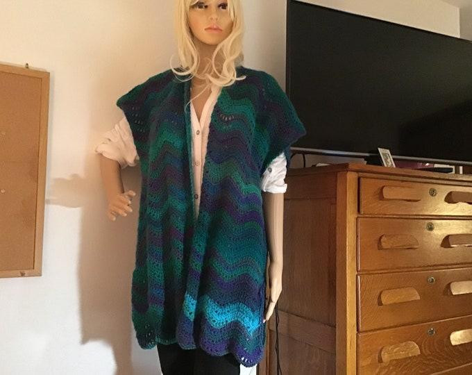 Chevron Kimono
