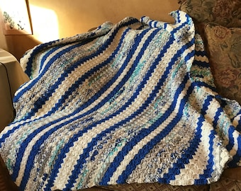 Crochet Corner Afghan