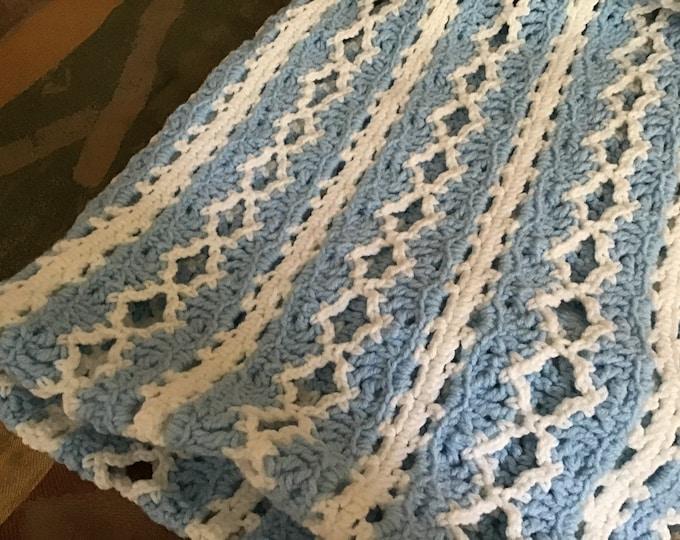 Crochet Crib Blanket