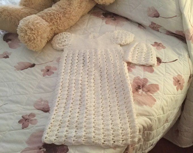 Christening Gown with Cap
