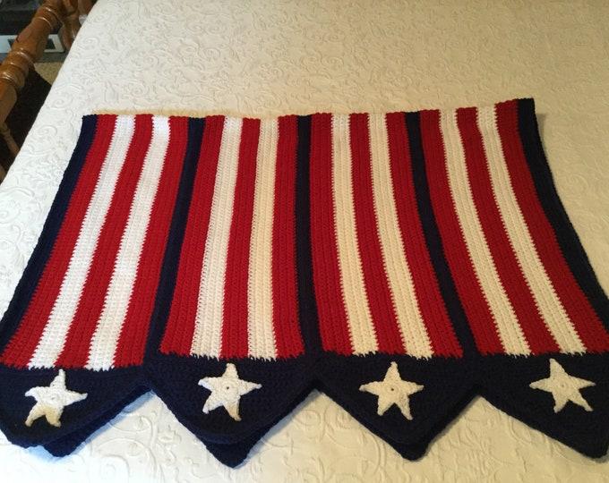 USA Flag Crochet