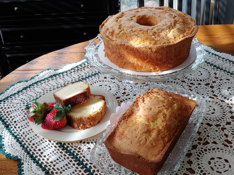 Sensational Ms B S Sour Cream Pound Cake Pound Cake Sour Etsy Birthday Cards Printable Giouspongecafe Filternl