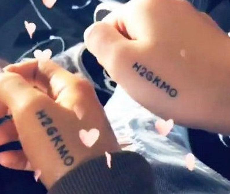 H2GKMO Ariana Grande Temporary Tattoos Set of 4 / Celebrity | Etsy