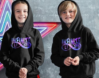 3a9f52d3499 Kids Infinite Lists Hoodie