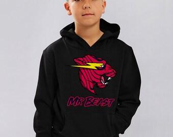 79aa46acfd8 Mr Beast Kids Hoodie