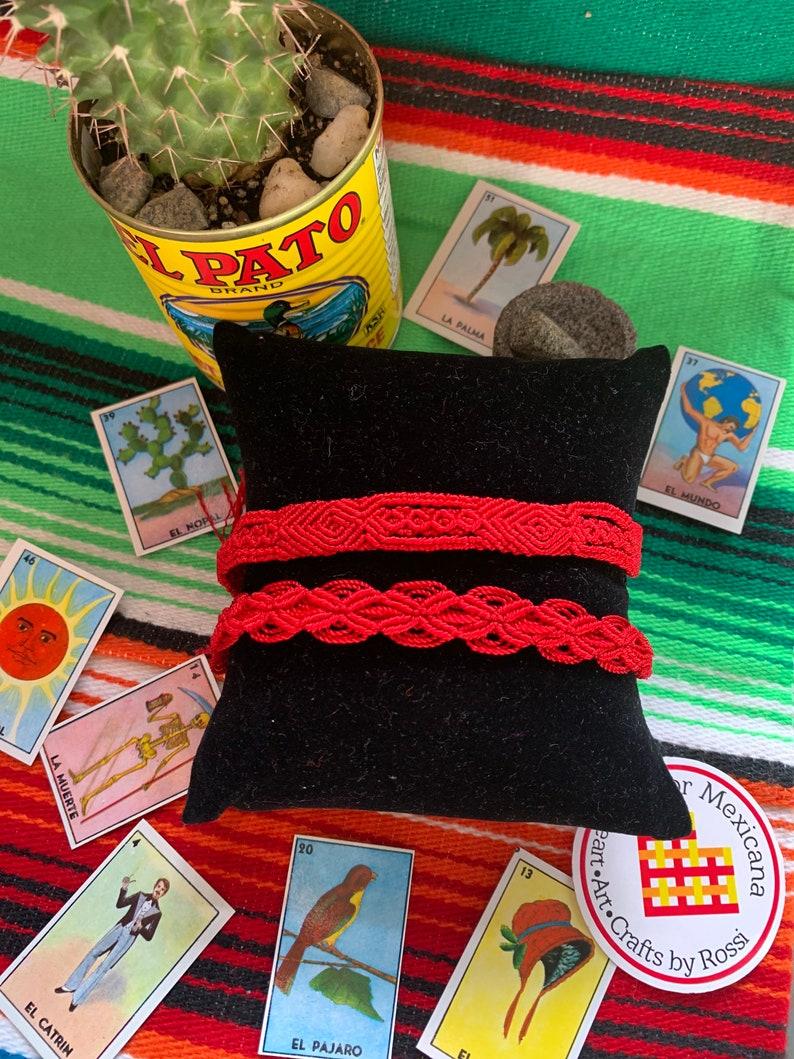 The Hilo rojo bracelet The Legendary Eternal Love bracelet friendship bracelet Boho hippie unisex Forever love handmade with love
