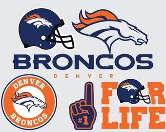 Denver Broncos Logo Svg SVG T Shirt Design NFL Football Files