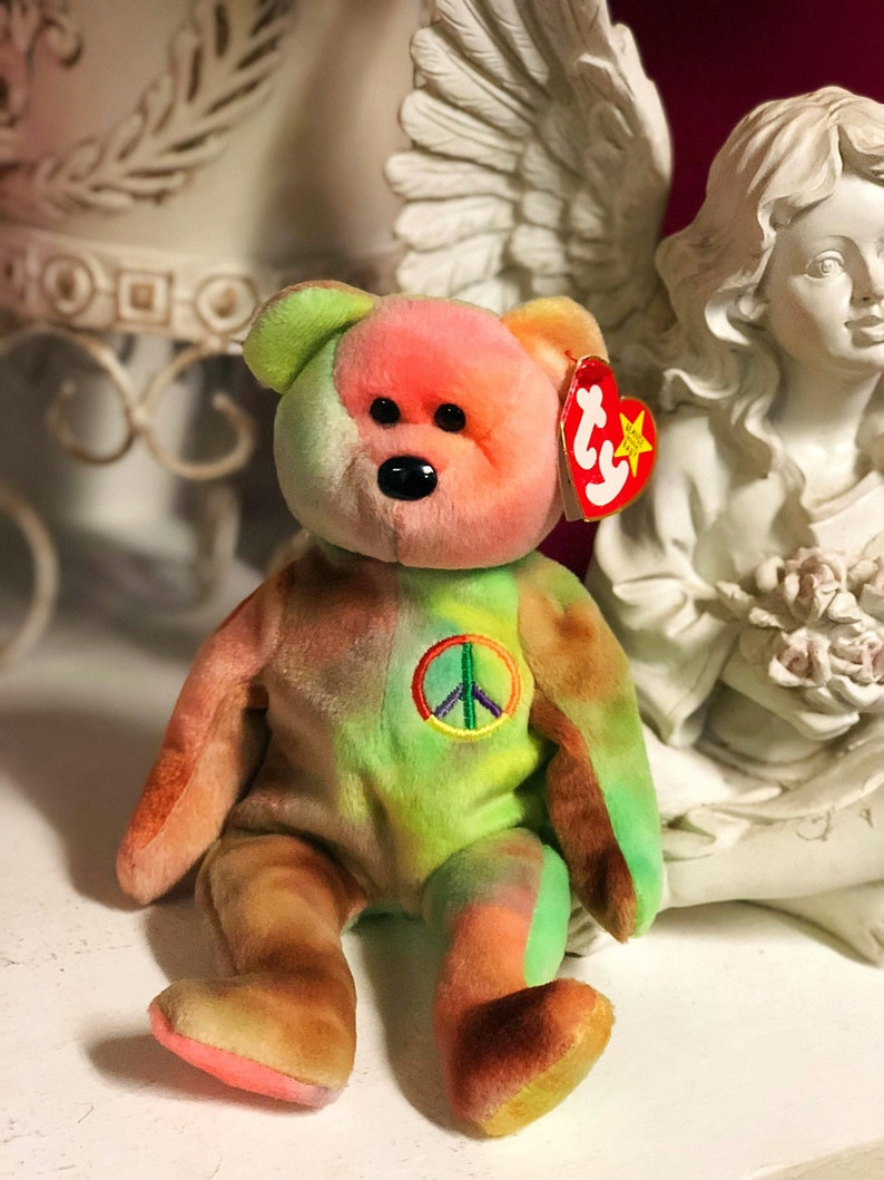 0b8b1080e9f TY PEACE 1996 Beanie Babies One Of The Most